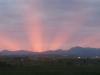 Puesta de sol desde Montencina