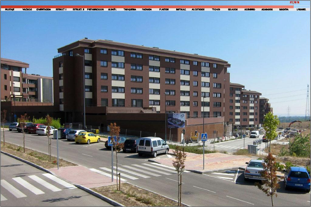 MONTENCINA: Avance de obra Septiembre 2014 - CP Grupo